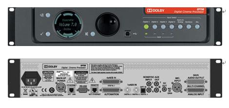 CP750数字影院处理器